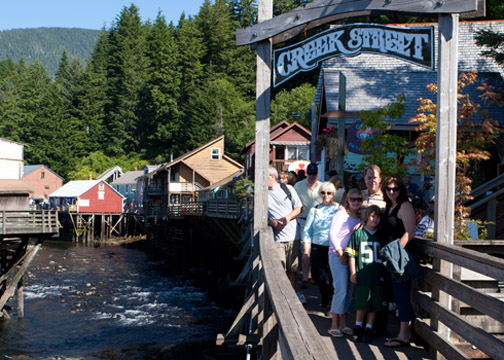 Creek Street Ketchikan, Alaska