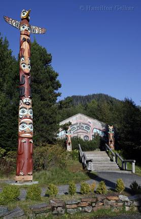 Saxman Totem Pole